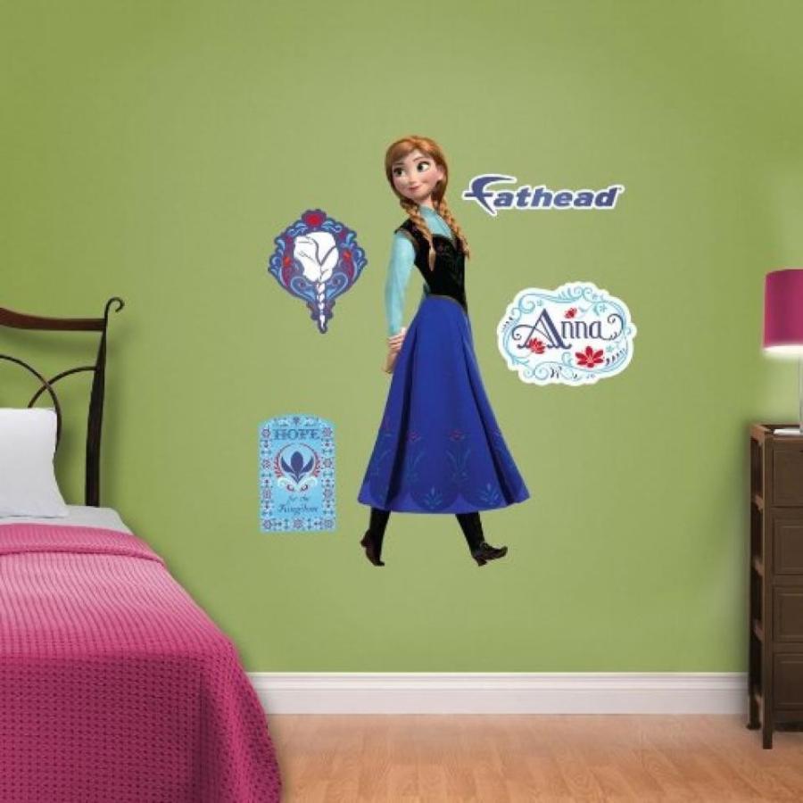 アナと雪の女王 おもちゃ フィギュア Disney Frozen Anna Wall Decals By Fathead 輸入品