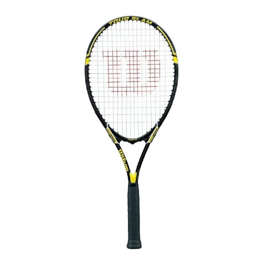 公式 テニス ラケット New Racket Wilson Tour Slam - Beginner Pre-strung Tennis Racquet Racket -Auth Dealer- 4 3/8 輸入品, 川井村 09436f18
