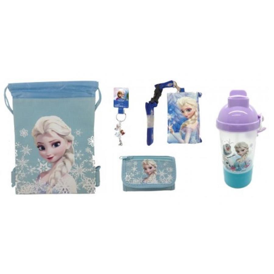 アナと雪の女王 おもちゃ フィギュア Disney Frozen Elsa Drawstring, Lanyard, Watllet, Rock N