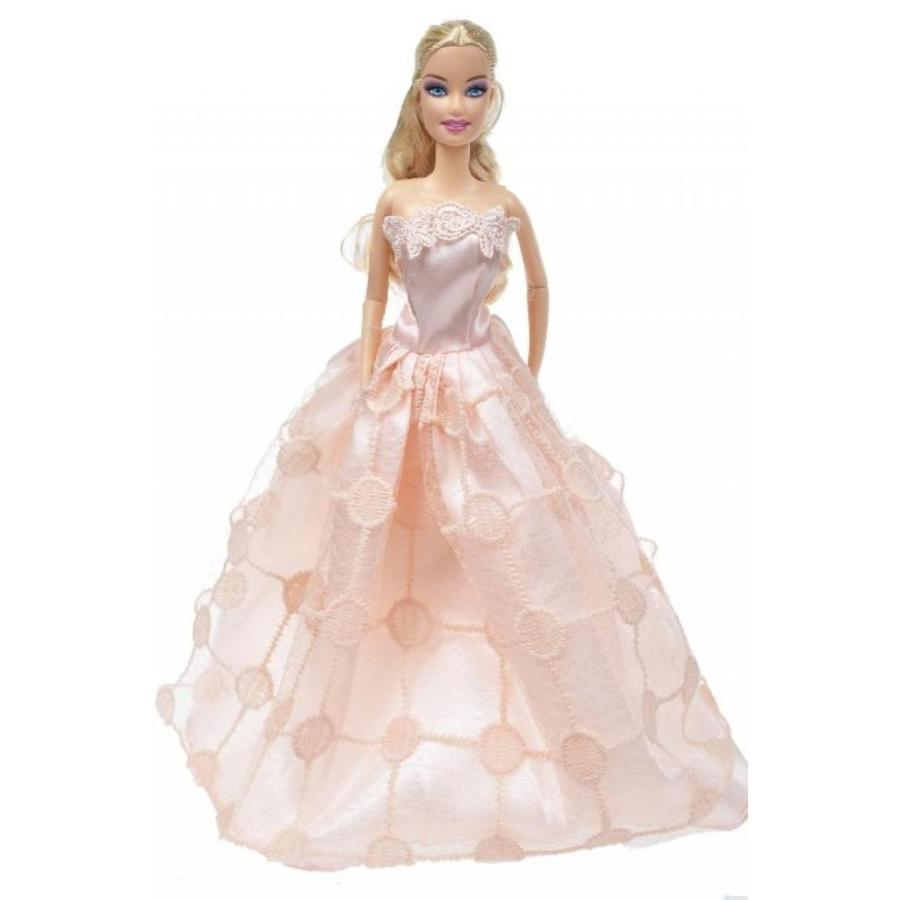 バービー人形 着せ替え おもちゃ Banana Kong Doll's Princess Clothes Gown Set,2 Pieces 輸入品