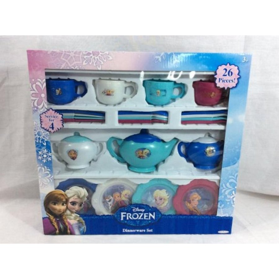 アナと雪の女王 おもちゃ フィギュア Frozen Dinnerware Set (26 Piece) 輸入品
