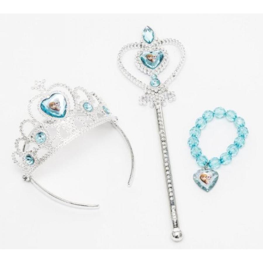 アナと雪の女王 おもちゃ フィギュア Disney Frozen Tiara Crown ,Wand and Bead Bracelet Gift S