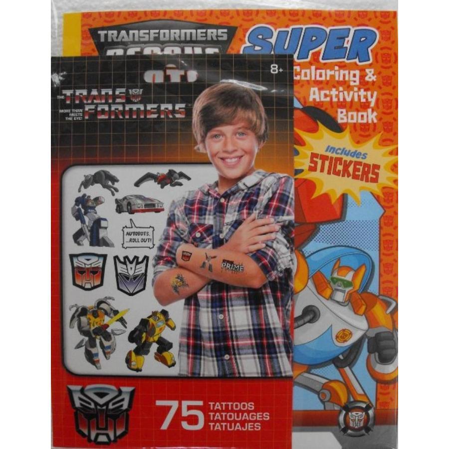 トランスフォーマー おもちゃ 変形 合体ロボ Bundle (T) - Transformers Rescue Bots 144 Page Color