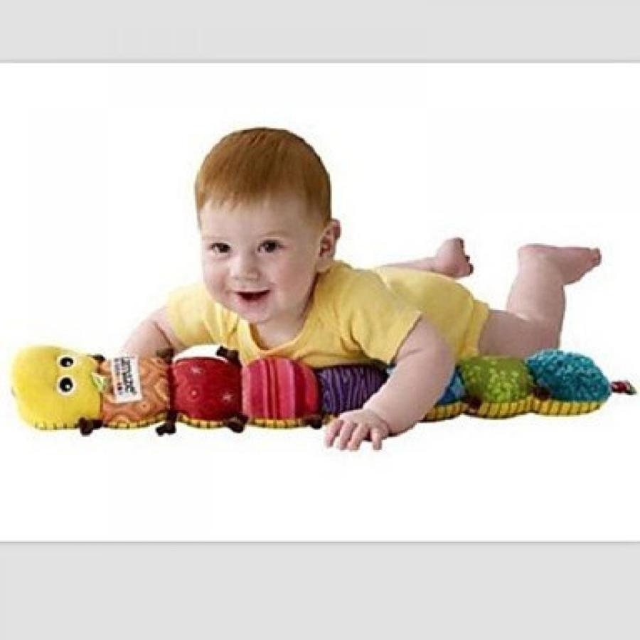 アナと雪の女王 おもちゃ フィギュア TTWG Lamaze Musical Rattle Inchworm Plush Educational Toys for Baby 輸入品
