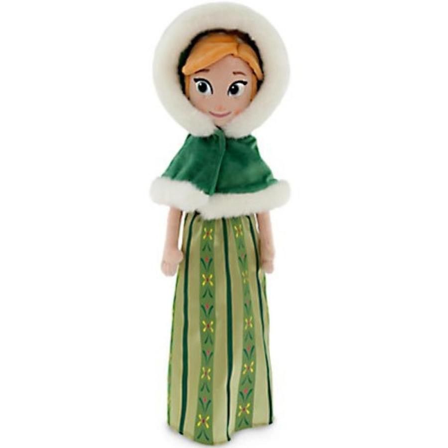 アナと雪の女王 おもちゃ フィギュア Disney Frozen 21 Inch Plush Holiday Anna [Hooded Cape] 輸入品