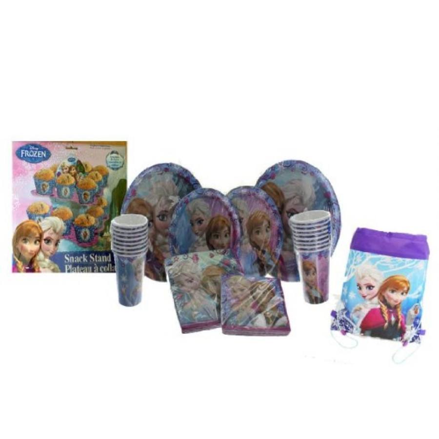 アナと雪の女王 おもちゃ フィギュア Disney Frozen Anna & Elsa Birthday Party Supply Set! Inc