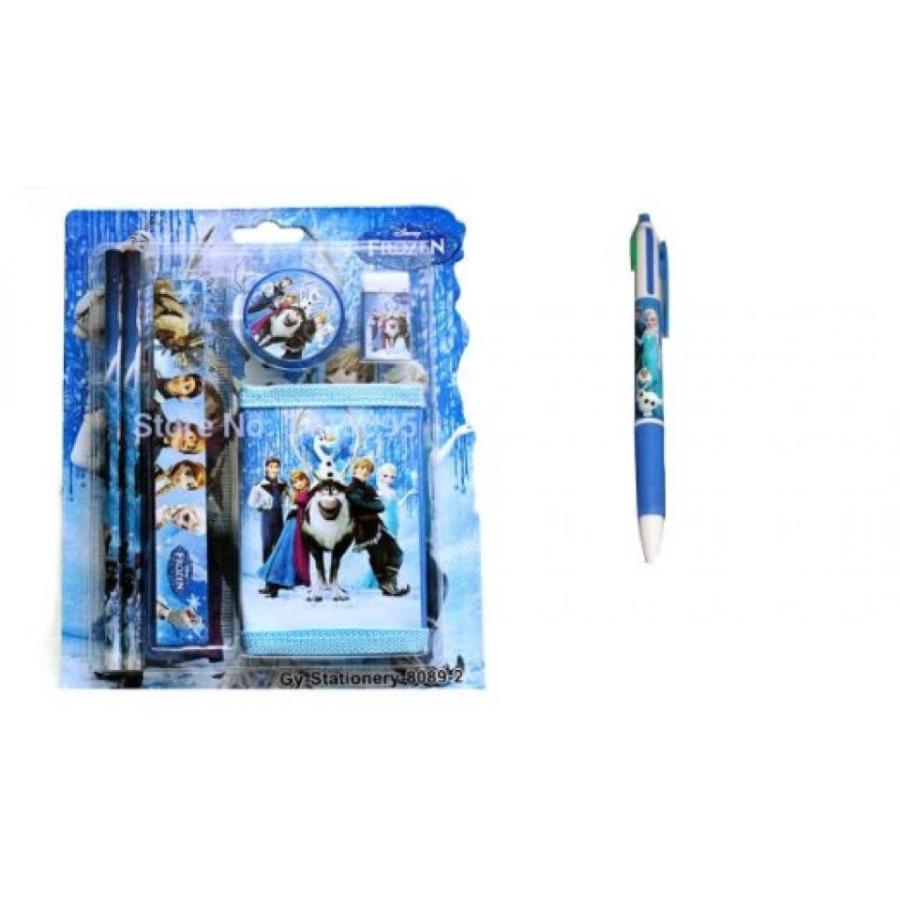 アナと雪の女王 おもちゃ フィギュア Frozen 7 Piece School Stationary Set 輸入品