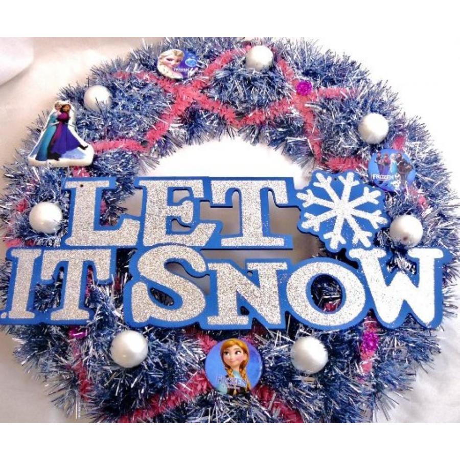 アナと雪の女王 おもちゃ フィギュア Disney Frozen Christmas Wreath 輸入品