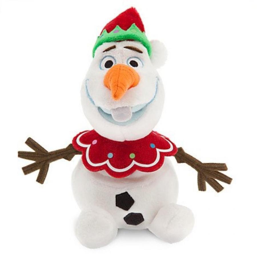 アナと雪の女王 おもちゃ フィギュア Disney Frozen Olaf Holiday Plush 10