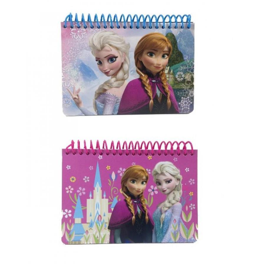 アナと雪の女王 おもちゃ フィギュア Lot of 2 Disney Frozen Princess Anna & Elsa Autograph Book 輸入品