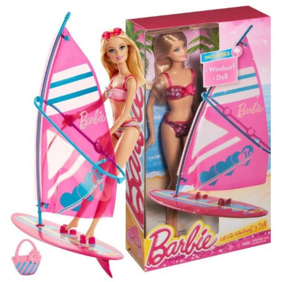 バービー人形 おもちゃ 着せ替え Windsurfer Barbie ~12