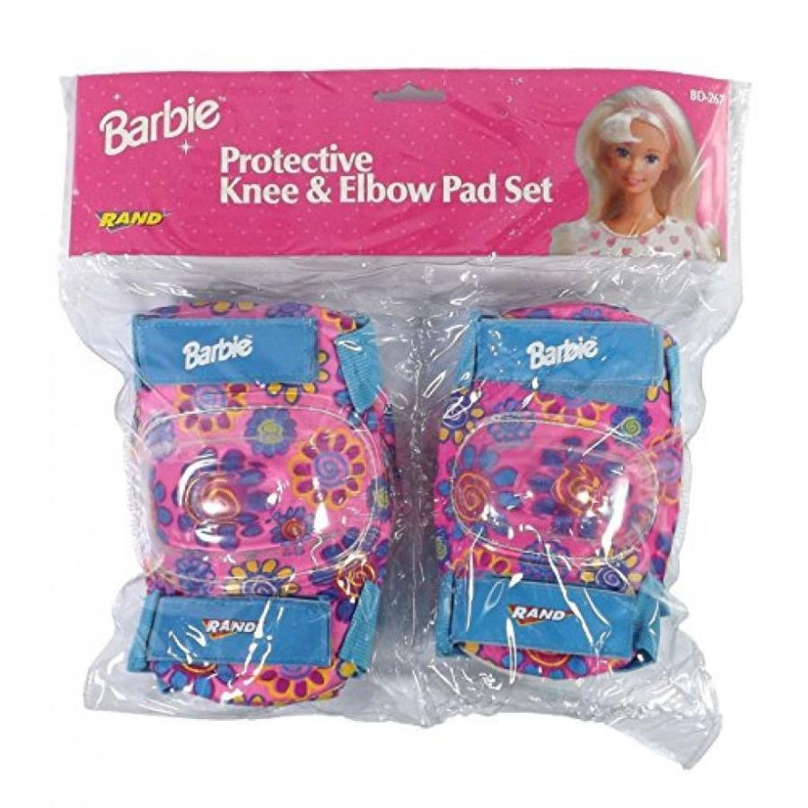 バービー人形 着せ替え おもちゃ Barbie ピンク Knee and Elbow Pads Protective Gear for Girls 輸入品