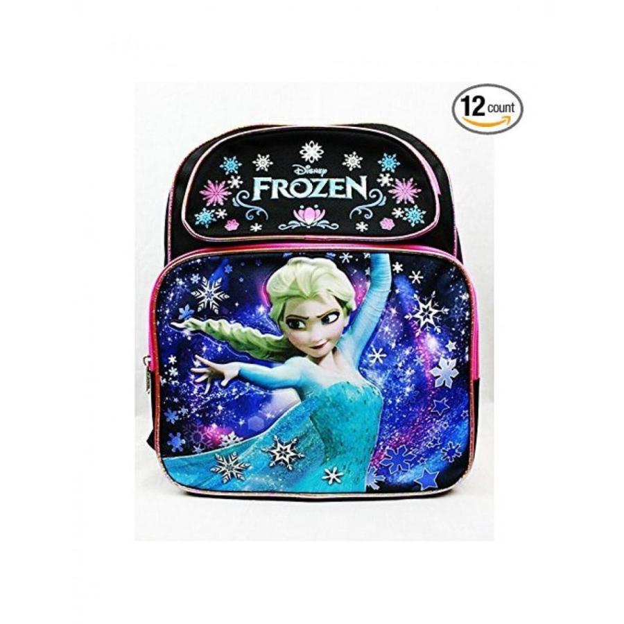 アナと雪の女王 おもちゃ フィギュア Disney Frozen Snow Princess Elsa Backpack Bag Tote 黒 Medium 14