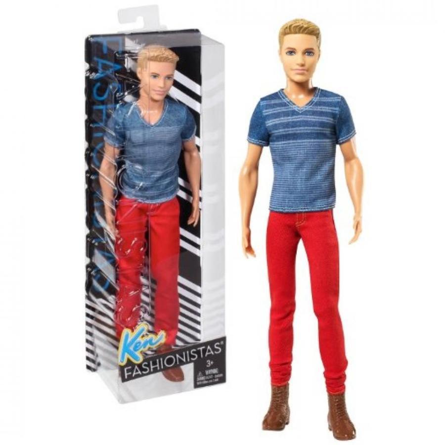 バービー人形 着せ替え おもちゃ Mattel Year 2014 Barbie Ken Fashionistas Series 12 Inch Do