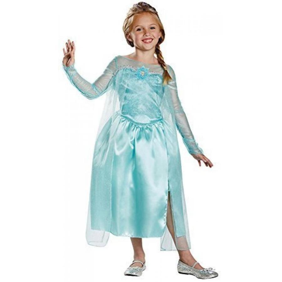 アナと雪の女王 おもちゃ フィギュア Disguise Disney's Frozen Elsa Snow Queen Gown Classic Gi