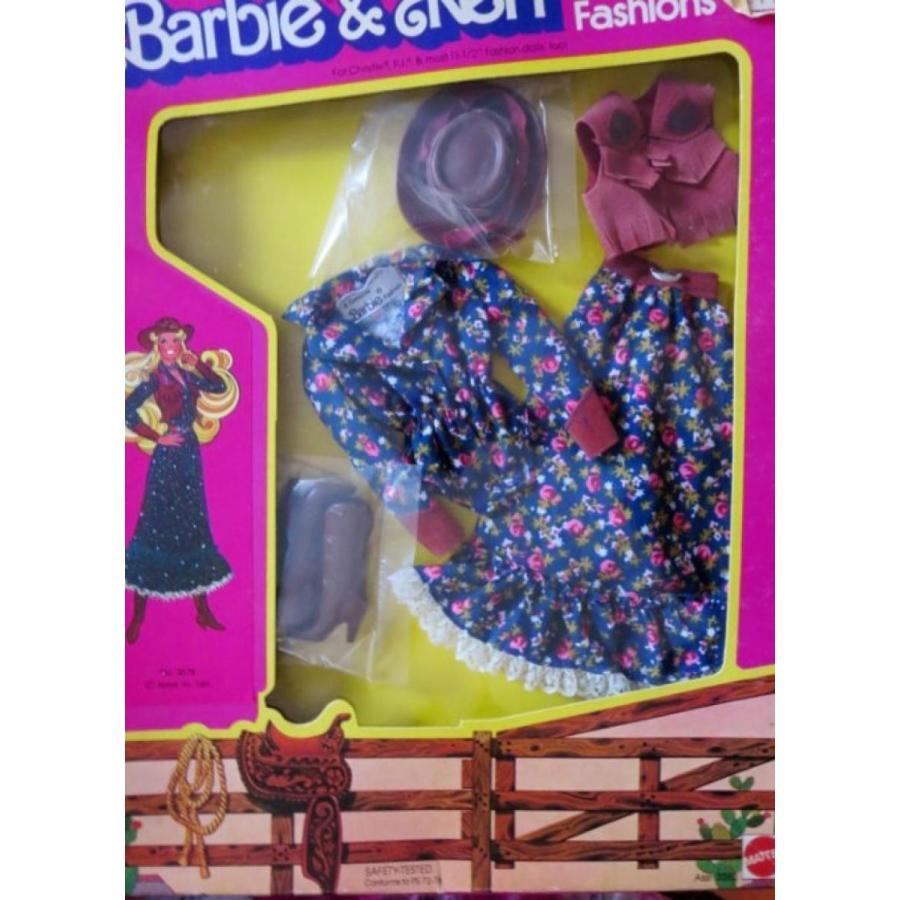バービー人形 着せ替え おもちゃ Barbie & Ken Western Fashions Cowgirl Outfit 1981 Rare 輸入品