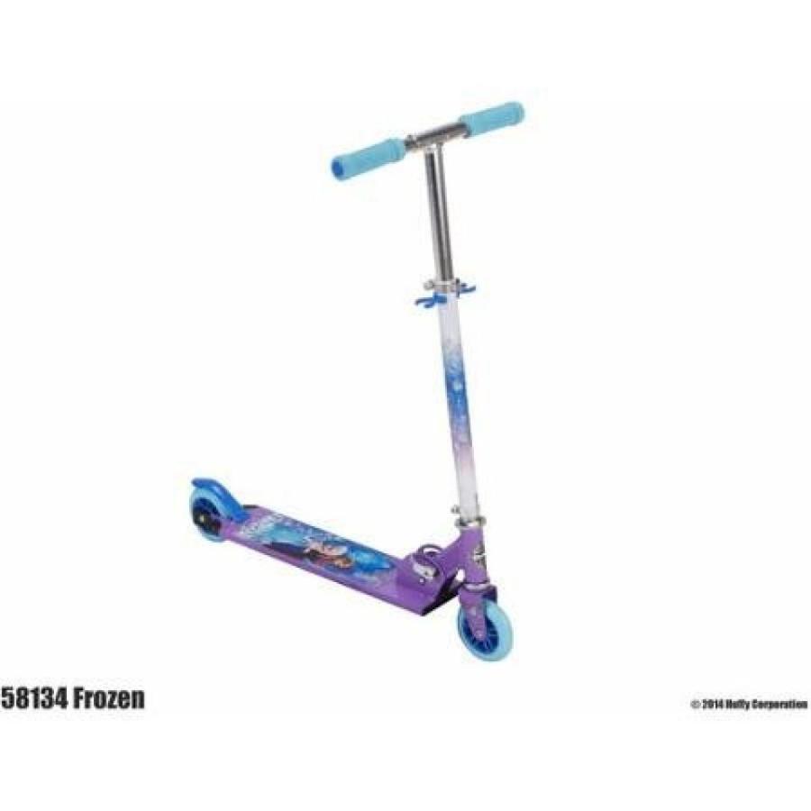 アナと雪の女王 おもちゃ フィギュア Huffy Disney Frozen Girls' Inline Folding Kick Scooter 輸入品