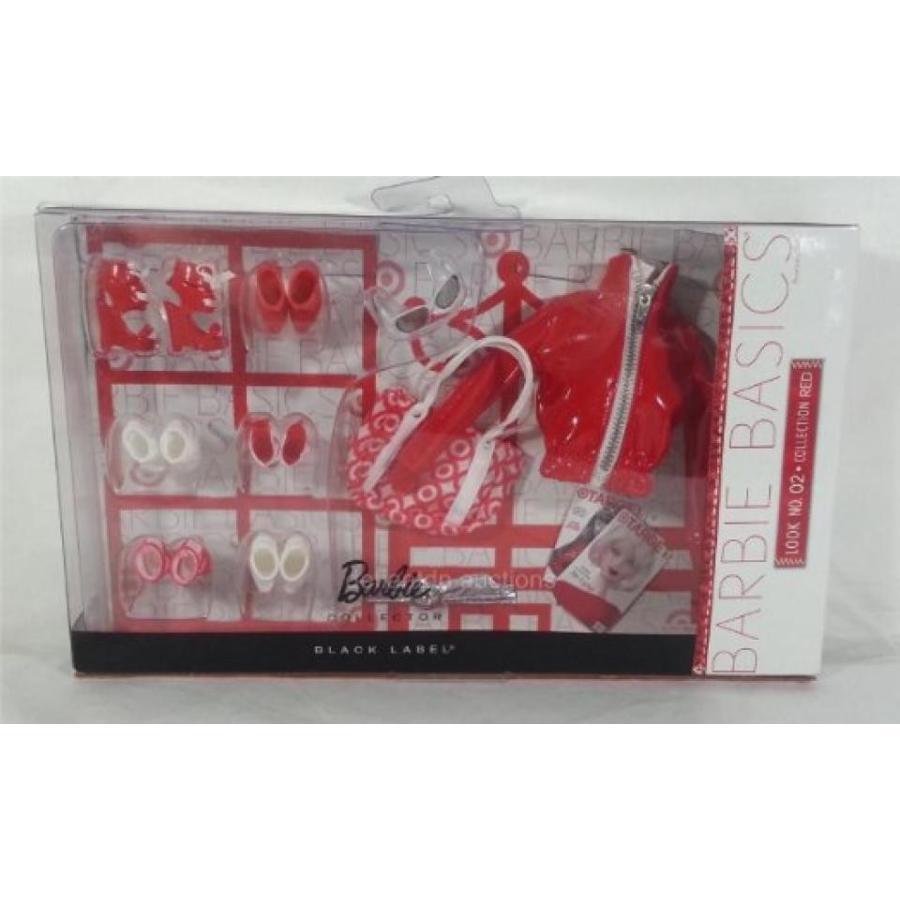 バービー人形 おもちゃ 着せ替え Barbie 黒 Label Target 赤 Clothes & Accessories, Set #2 輸入品
