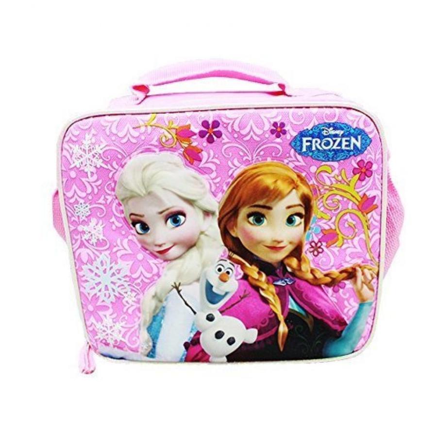 アナと雪の女王 おもちゃ フィギュア Frozen ピンク Lunch Bag with Shoulder Strap Plus Frozen Pi