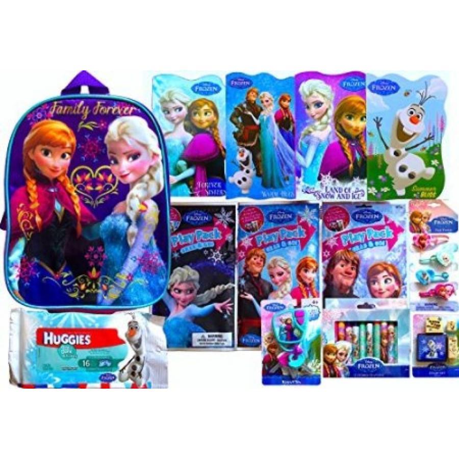 アナと雪の女王 おもちゃ フィギュア Disney's Frozen Toddler Backpack Holiday Gift Set 13 Pie