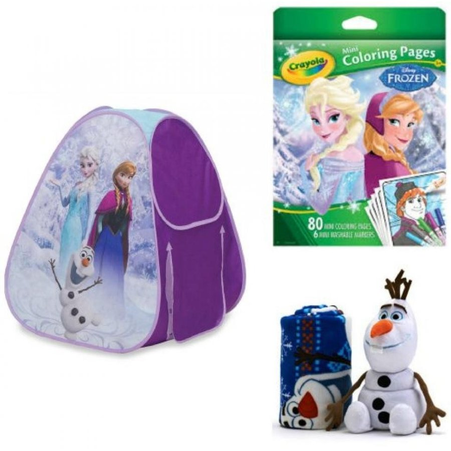 アナと雪の女王 おもちゃ フィギュア Disney Frozen Classic Hideaway with Olaf 2-pc. Toddler P