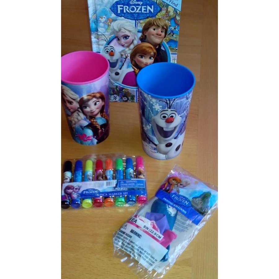 アナと雪の女王 おもちゃ フィギュア Elsa Anna Frozen Olaf Christof Bundle Pack Crafts Books