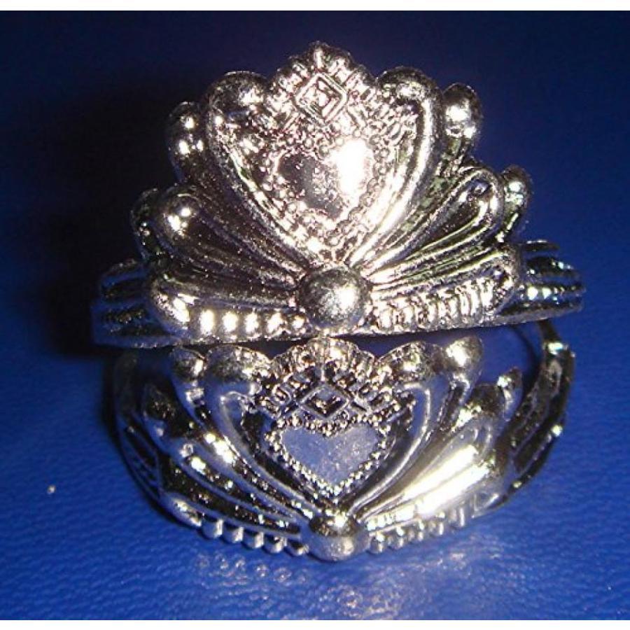 バービー人形 着せ替え おもちゃ (10)pk. 銀 Crowns for Barbie Dolls 輸入品