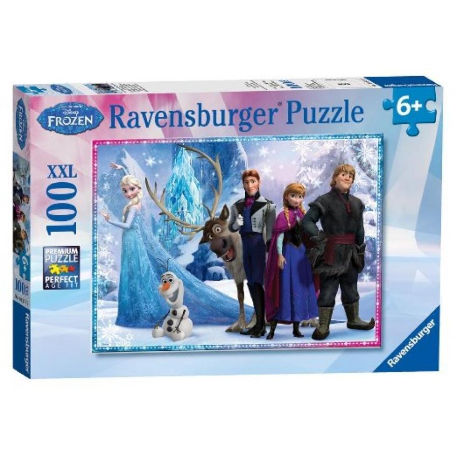 アナと雪の女王 おもちゃ フィギュア Puzzle - Disney - Frozen - XXL100 - 100pcs 輸入品