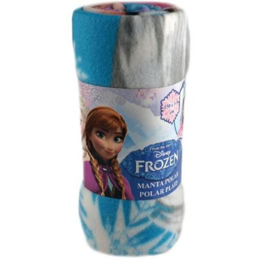 アナと雪の女王 おもちゃ フィギュア Disney Frozen Girls Polar Fleece - Large Cosy Soft Blanket - 150 cm x 100 cm 輸入品