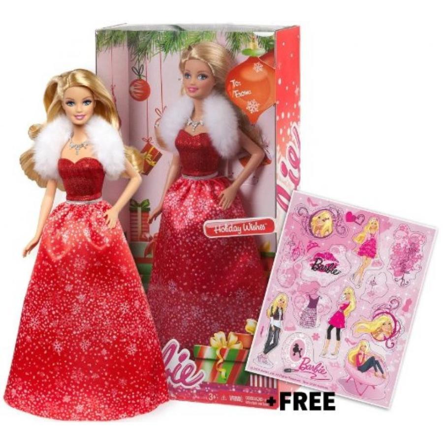 バービー人形 おもちゃ 着せ替え Barbie 2014 Holiday Wishes ~12