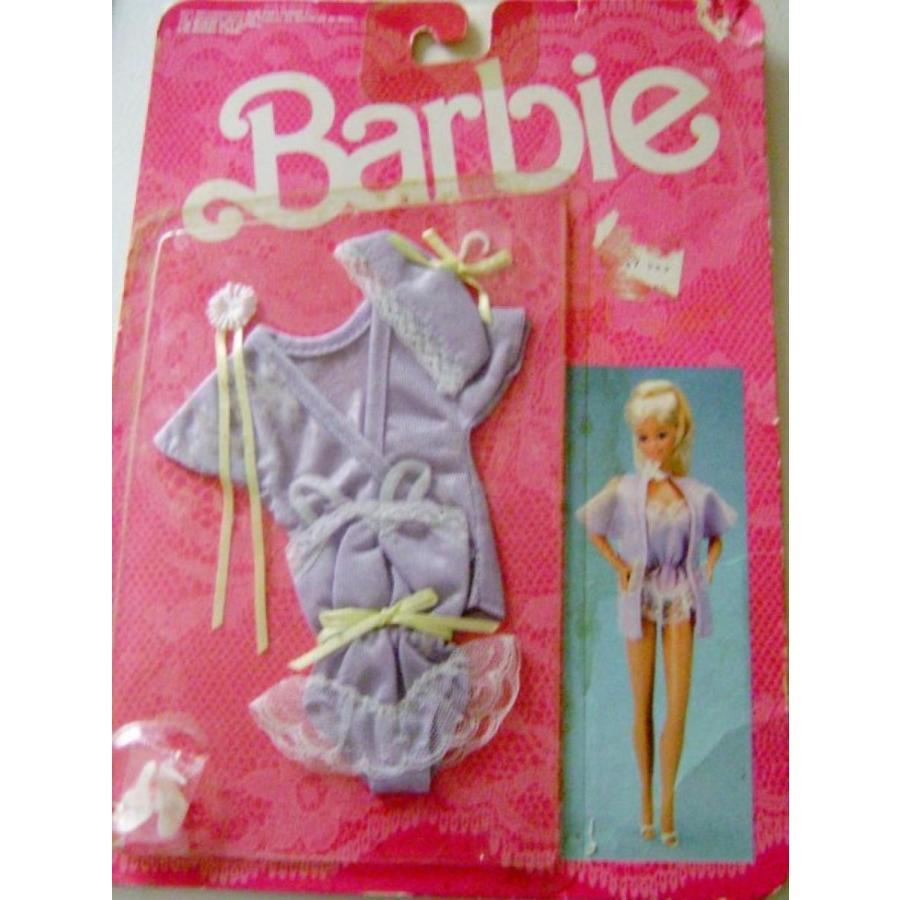 バービー人形 着せ替え おもちゃ Barbie Fancy Frills Lingerie 1986 Teddy Jacket and Shoes 輸入品