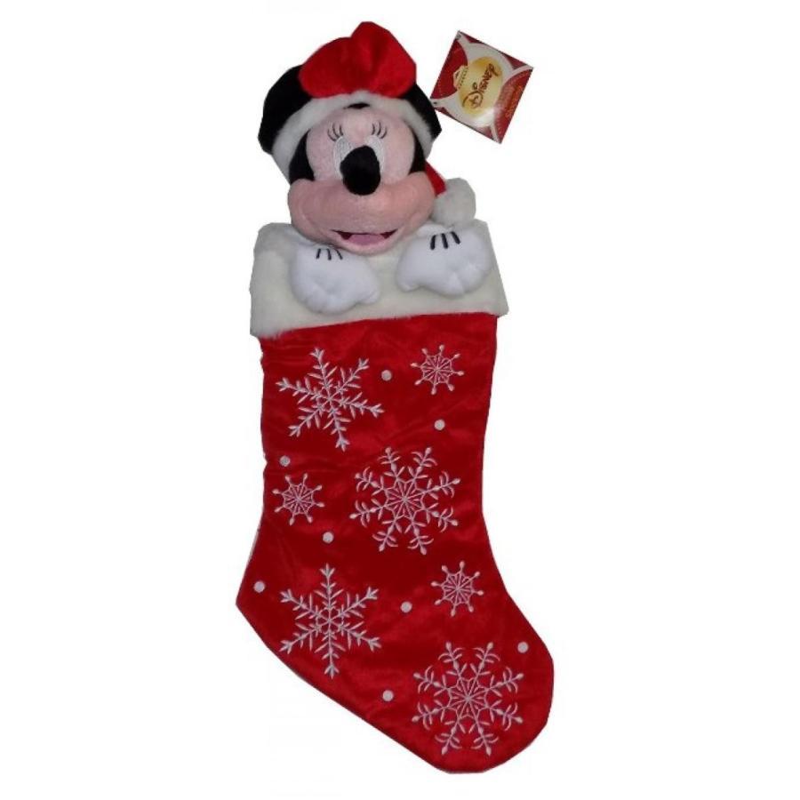 アナと雪の女王 おもちゃ フィギュア Disney's Minnie Mouse Christmas Stocking 輸入品