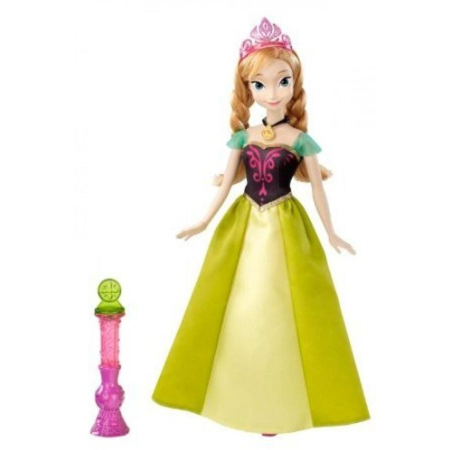アナと雪の女王 おもちゃ フィギュア Disney Frozen Color Change Anna Fashion Doll 輸入品