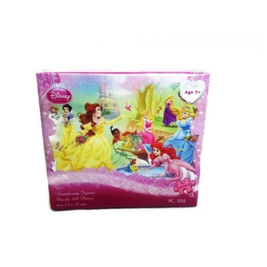 アナと雪の女王 おもちゃ フィギュア Disney Princess Snow 白い Cinderella 500 Piece Jigsaw Puzzle (Pc052) 輸入品
