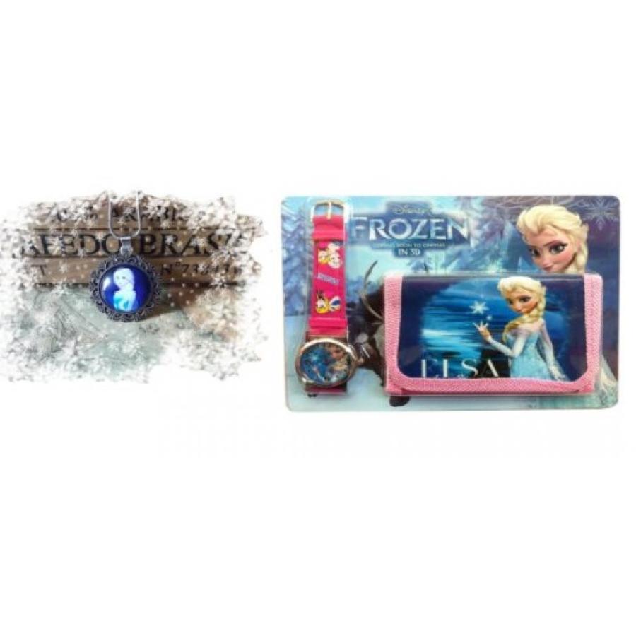 アナと雪の女王 おもちゃ フィギュア Frozen Watch and Wallet With Carbon Glass Necklace:. Froz:32 輸入品