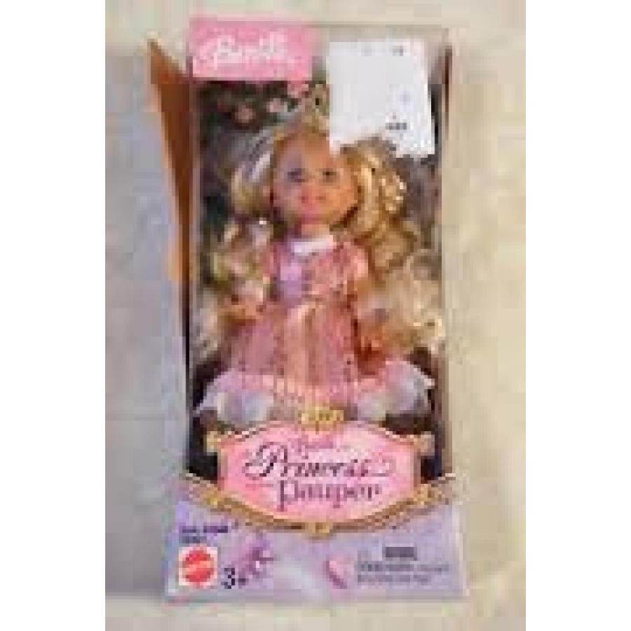 バービー人形 着せ替え おもちゃ Barbie as The Princess and the Pauper Curly Blond Hair 輸入品