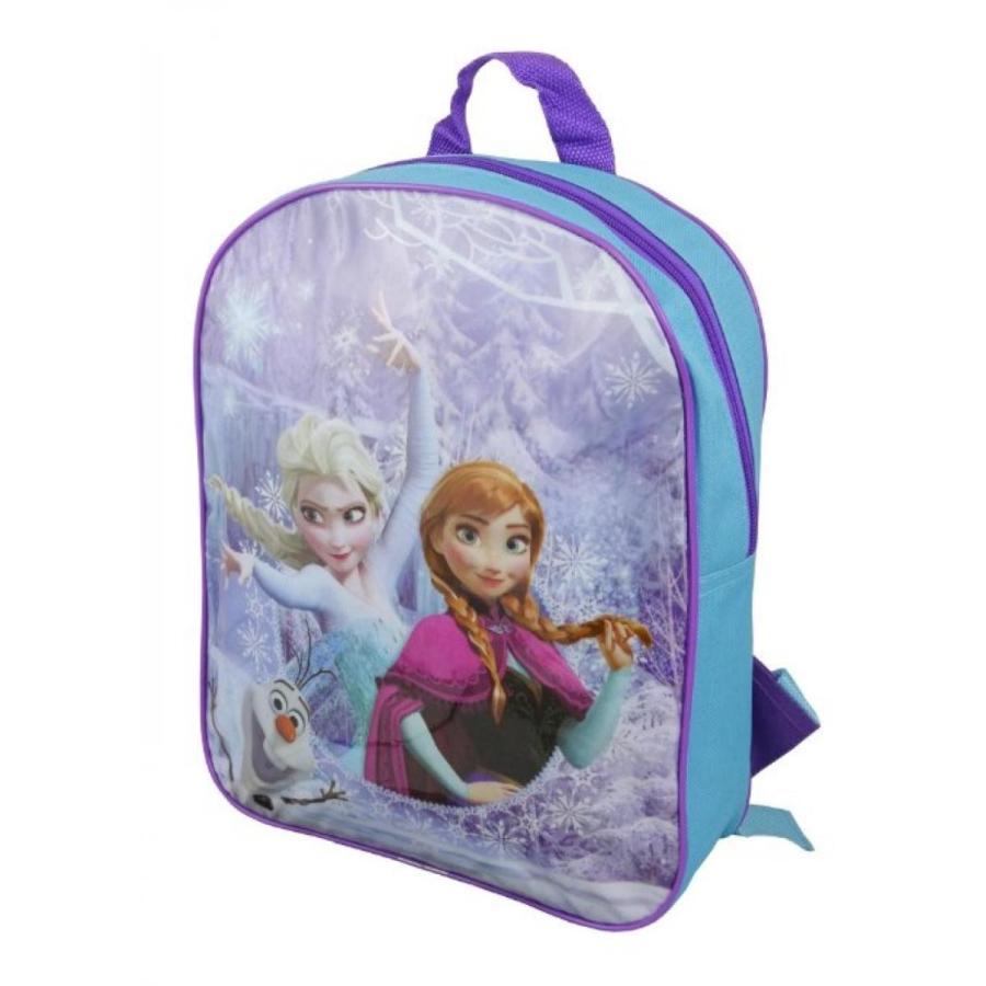 アナと雪の女王 おもちゃ フィギュア Disney Frozen 'Elsa, Anna & Olaf' Backpack 輸入品
