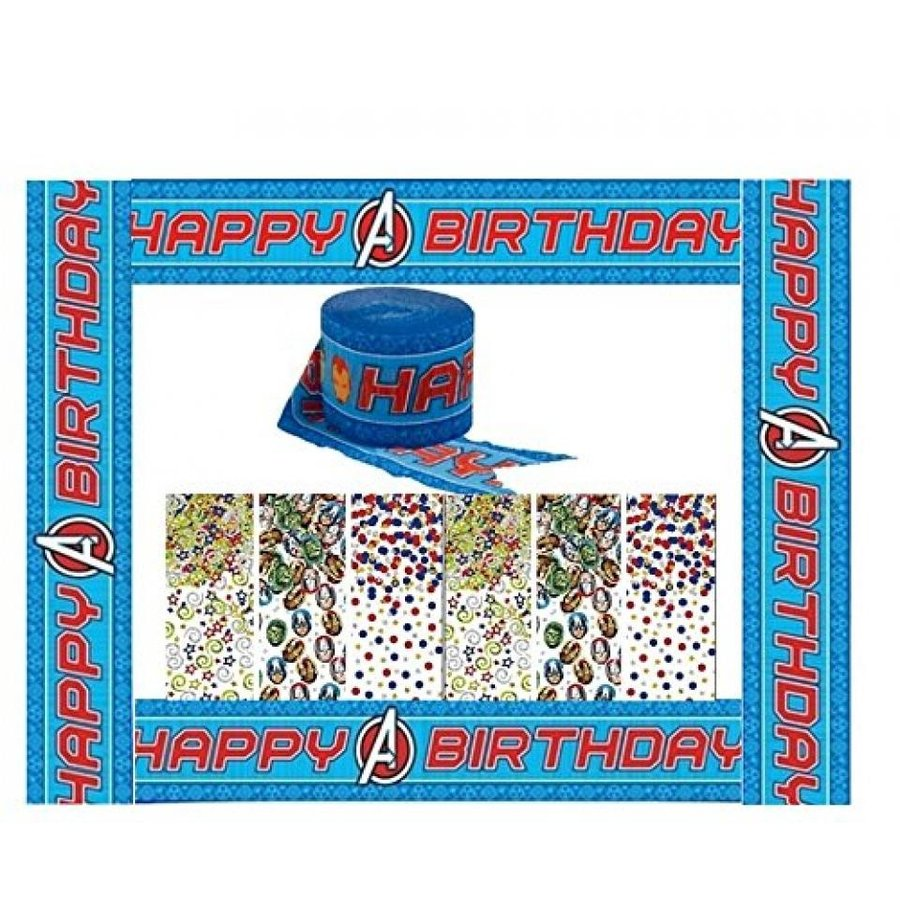 アナと雪の女王 おもちゃ フィギュア Marvel the Avengers Assemble Confetti & Streamer Decorating Kit 輸入品