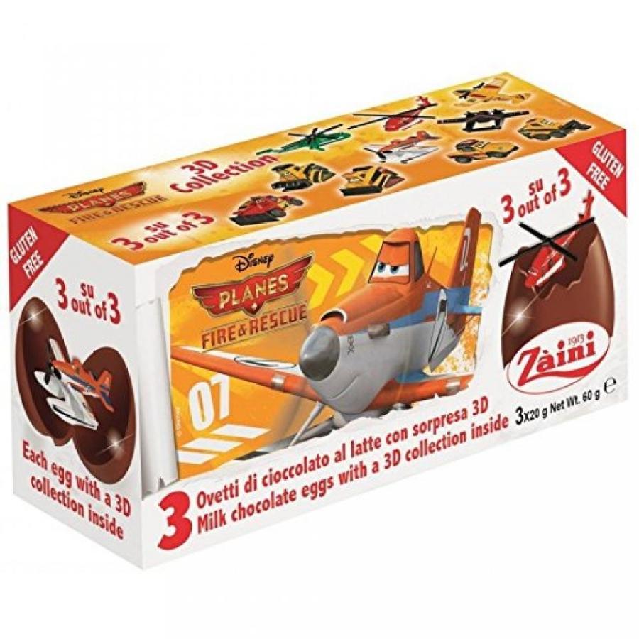 アナと雪の女王 おもちゃ フィギュア Zaini Disney Pixar Planes Fire & Rescue Chocolate Surpri
