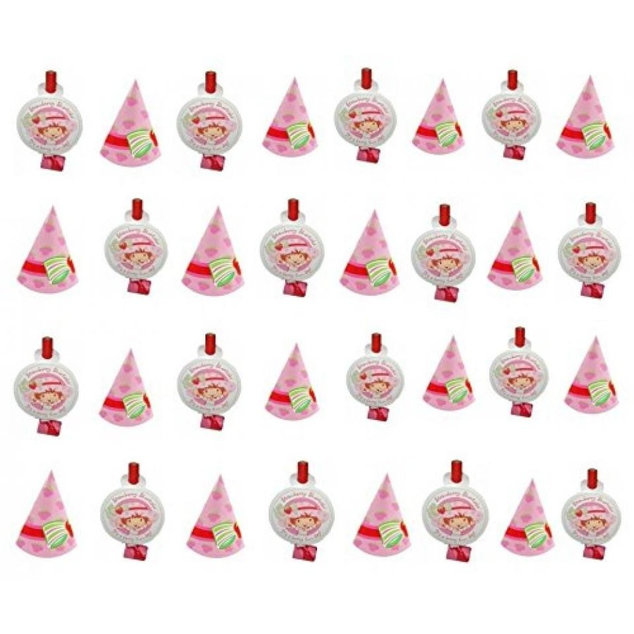 アナと雪の女王 おもちゃ フィギュア Strawberry Shortcake Party Favors Blowouts and Party Hat