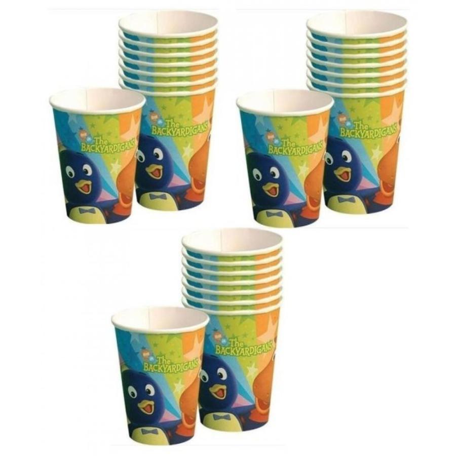 アナと雪の女王 おもちゃ フィギュア Backyardigans Party Cups for 24 Guests!! 輸入品