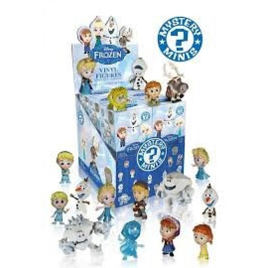 アナと雪の女王 おもちゃ フィギュア Funko Disney Frozen Mystery Mini Action Figure - Anna