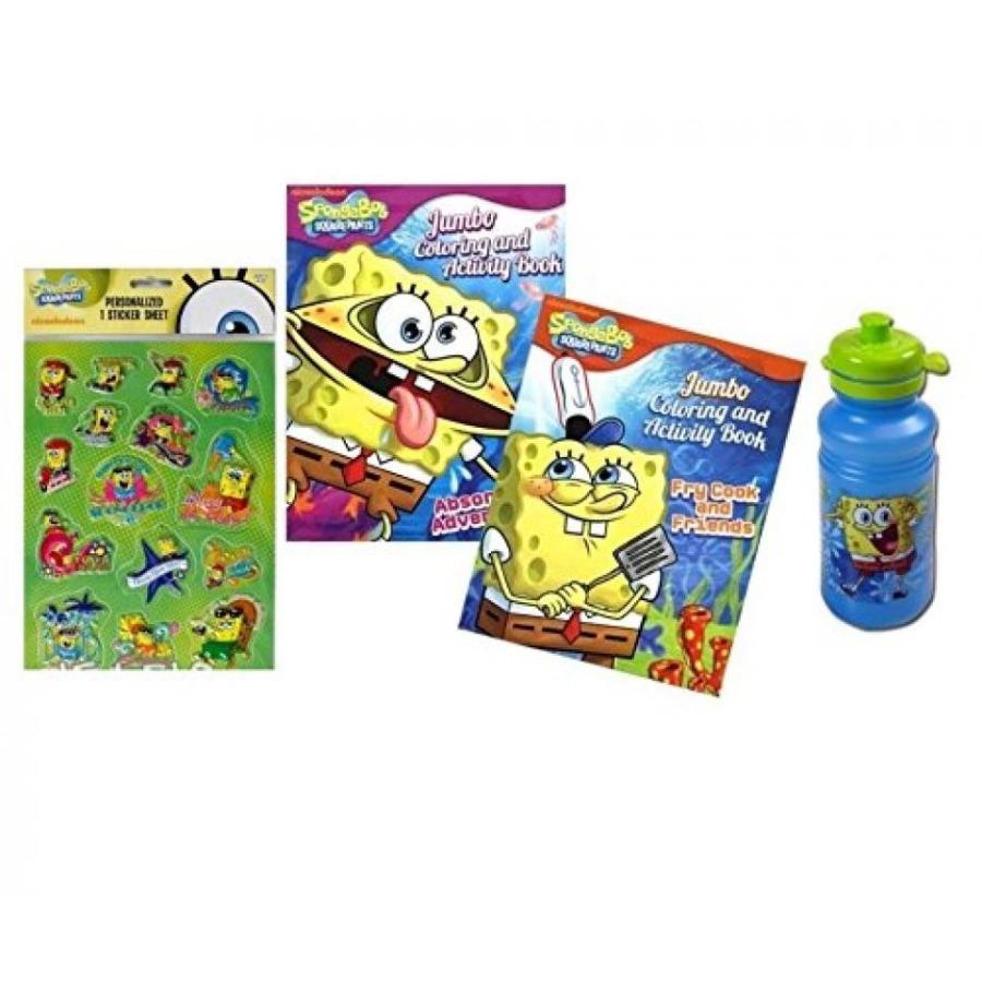 アナと雪の女王 おもちゃ フィギュア Spongebob Squarepants Coloring & Activity Book Gift Set 輸入品