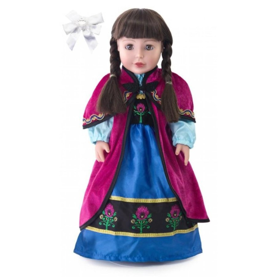 アナと雪の女王 おもちゃ フィギュア Little Adventures 41371 Doll Scandinavian Princess Cloak with Hairbow 輸入品