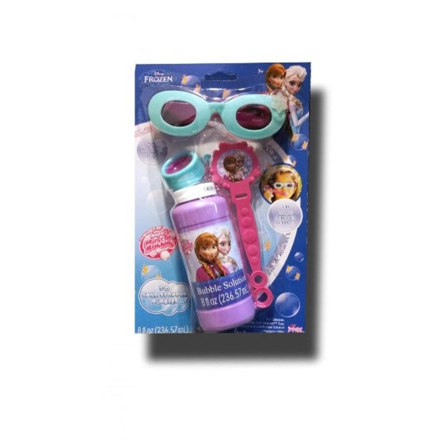 アナと雪の女王 おもちゃ フィギュア Disney Frozen 3D Spill Stopper Bubble Kit 輸入品