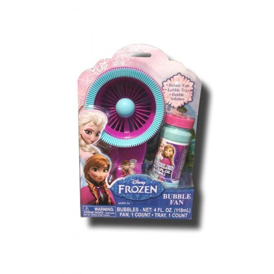 アナと雪の女王 おもちゃ フィギュア Disney Frozen Elsa and Anna Bubble Fan 輸入品