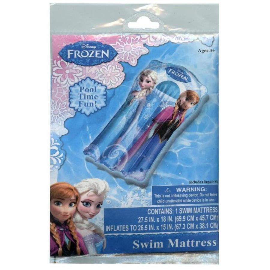 アナと雪の女王 おもちゃ フィギュア Disney Junior Frozen Elsa Anna Pool Swim Mattress 輸入品