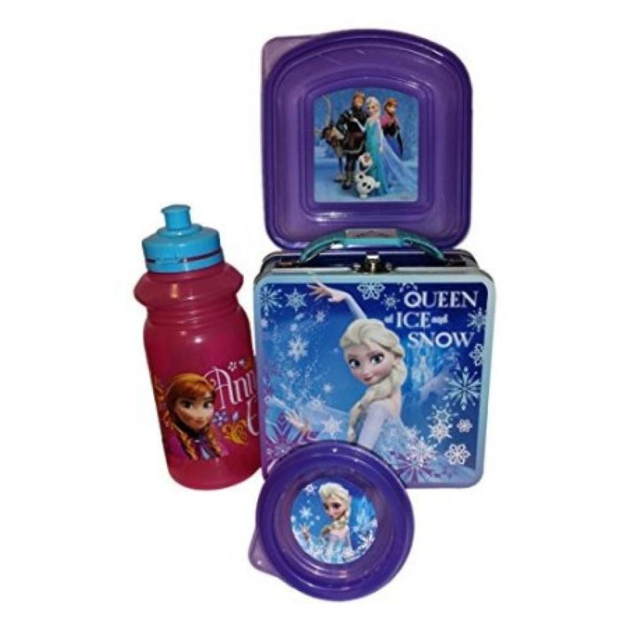 アナと雪の女王 おもちゃ フィギュア 4 Piece Deluxe Elsa Frozen Lunch Set 輸入品