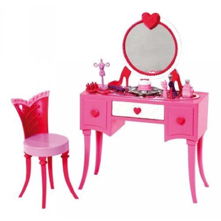バービー人形 おもちゃ 着せ替え Barbie Glam Vanity Furniture Set Model: X7940 輸入品