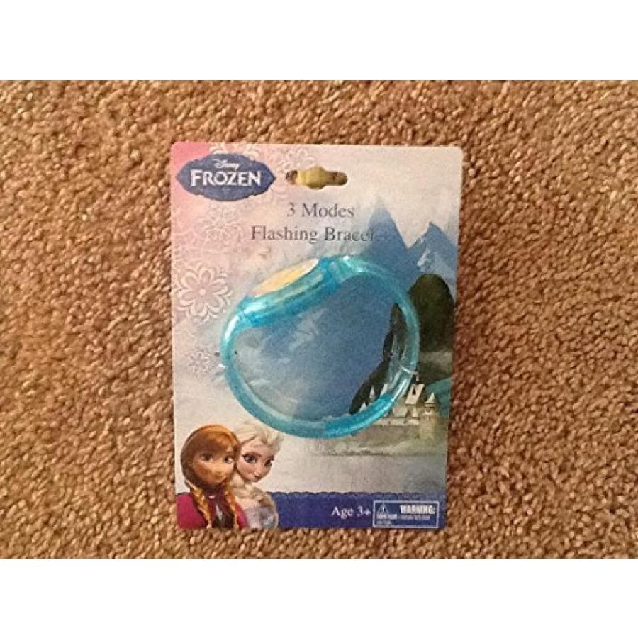 アナと雪の女王 おもちゃ フィギュア Disney Frozen Flashing Bracelet 青 3 Modes 輸入品